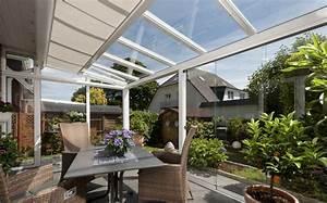 Terrassenüberdachung Zum öffnen : seitenverglasung f r terrassen berdachung ~ Sanjose-hotels-ca.com Haus und Dekorationen