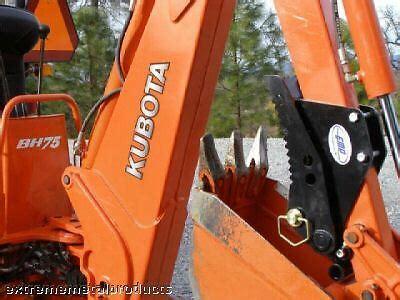 kubota bh backhoe thumb compact tractor backhoe thu ebay