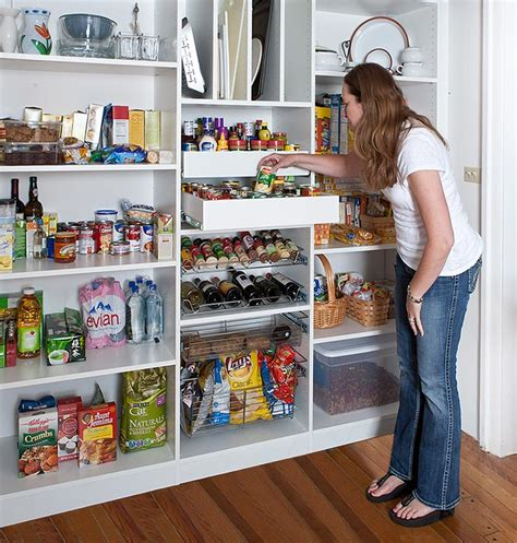 kitchen pantry closet organizers reach in pantry shelving with pantry pull out organizers 5475