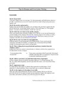 tips for resumes and cover letters resume cover letter tips crna cover letter