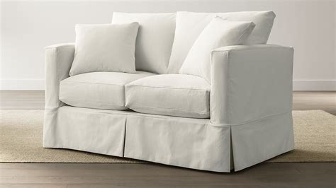 Willow Loveseat by Willow Loveseat Deso Snow Crate And Barrel