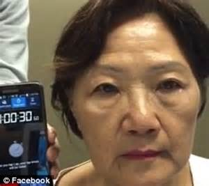 Video shows woman's wrinkles disappear in 1 MINUTE after