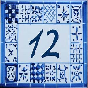 Plaque Numero Maison Personnalisé : plaque de maison avec num ro de rue personnalis en faience ~ Melissatoandfro.com Idées de Décoration