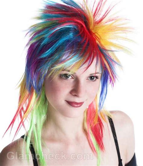 Rainbow Hair Color How To Dye Your Hair Rainbow