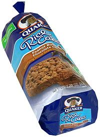quaker rice cakes peanut butter chocolate chip  oz