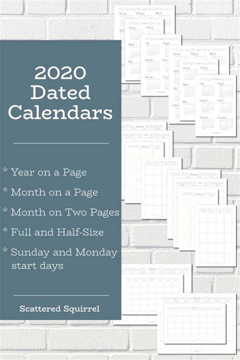 dated calendars ready planners calendar budget