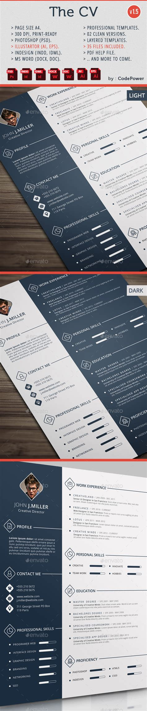 top 10 awesome creative resume templates for 2016