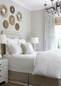 Sunburst wall decor transitional bedroom courtney