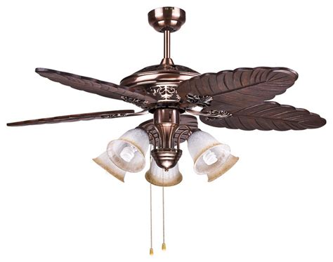 ceiling fans for bedroom tropical bedroom ceiling fan lights with brass finish
