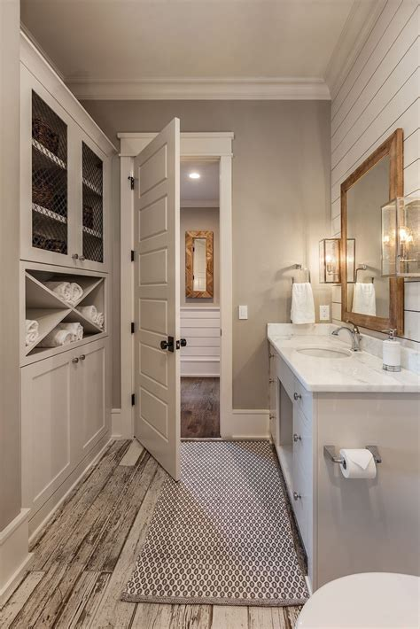 elegant farmhouse bathroom wall color ideas coodecor