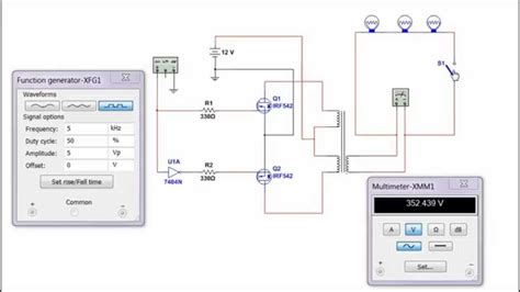 mosfet inverter youtube