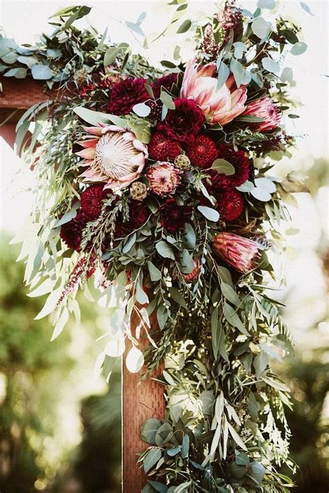 lush fall garden wedding ideas weddingomania