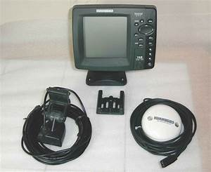 Humminbird 768 Combo Gps Sonar Fish Finder W   Antenna