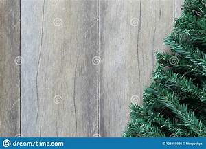 Branches, Of, Pine, Trees, Placed, On, Brown, Wooden, Floor, Stock, Photo