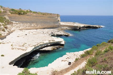 St. Peter's Pool Beach In Malta