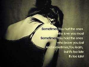 depressed quotes wallpapers   love quotes wallpapers ...