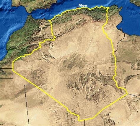 Carte Sat Algerie by الخبر Quot الأقمار الصناعية الجديدة ستساهم في حماية الحدود