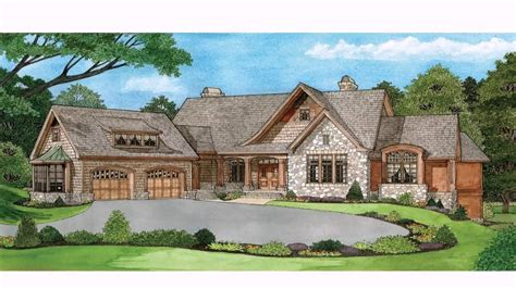 house plans ranch style homes walkout basement description youtube