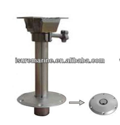 How To Remove Boat Seat Pedestal by Adjustable Boat Seat Pedestal Marine Fittings Buy
