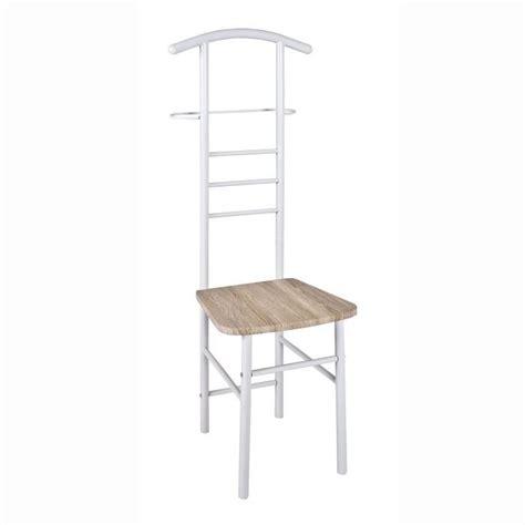 porte vetement chambre valet de nuit simple porte vetement chaise achat