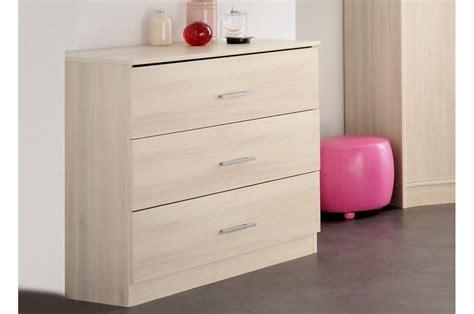 chambre bois commode de chambre bois acacia clair trendymobilier com
