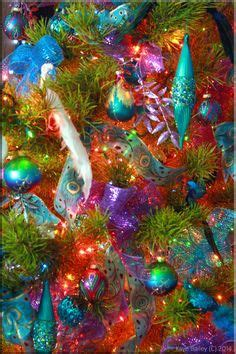 peacock inspired christmas decor images