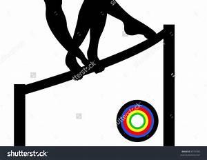 gymnastics clipart silhouette bars - Clipground