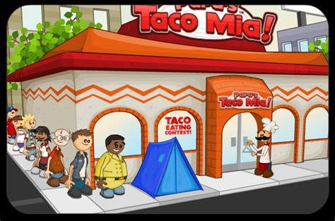 papa louie cuisine papa 39 s taco free flash flipline studios