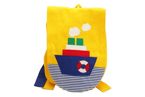 siege bateau dos a dos sac à dos d 39 enfant en coton bateau sangles à nouer