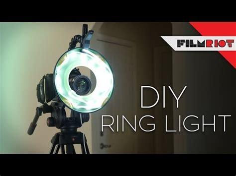 simple diy ring light tips  adding