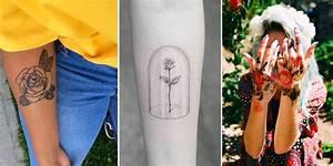 Rose En Tatouage : le tatouage rose en 17 inspirations florissantes ~ Farleysfitness.com Idées de Décoration
