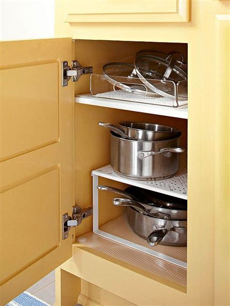 kitchen cabinets and shelves how to organize kitchen cabinets skillets cabinets and 5906