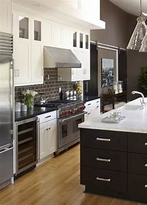 With kitchen colors with white cabinets with barn door wall art