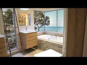 salle de bain zen youtube With salle de bain zen leroy merlin