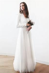 50 beautiful long sleeve wedding dresses With still white wedding dresses