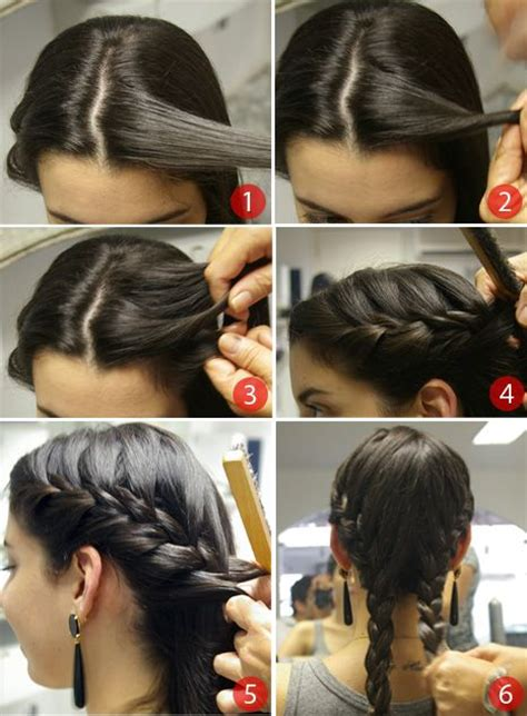 images  french braid pigtails  pinterest