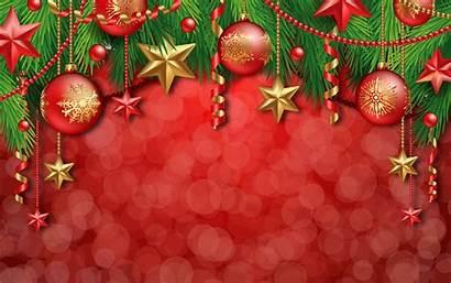 Christmas Desktop Decorations Wallpapers Illustration Background Ornaments
