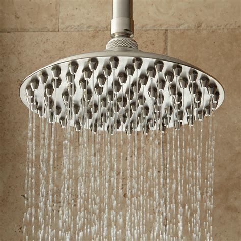 shower heads bostonian rainfall nozzle shower with extended arm