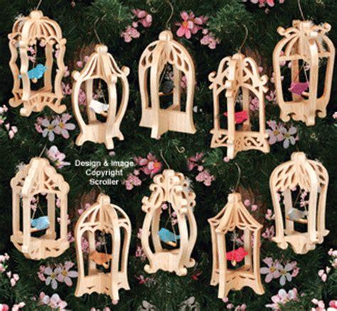 scroll  designs bird cage ornaments pattern set
