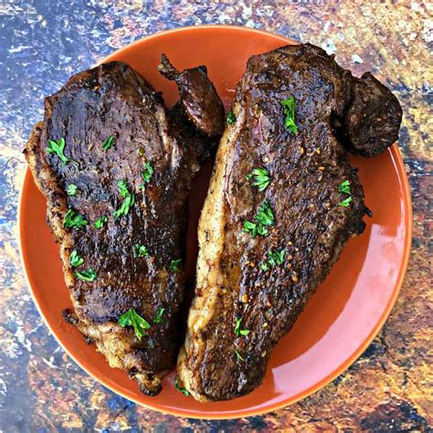 fryer steak air keto recipes easy marinated steaks dinner carb low meal perfect recipe strip filet mignon sirloin