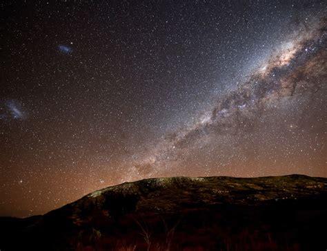 Milky Way Galaxy Fluttering Like Flag New Scientist
