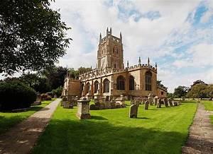 Fairford St Mary's Church Gloucestershire England ...