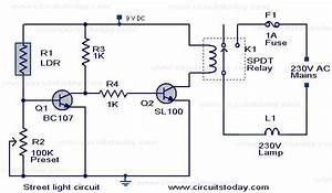 U0026gt  Circuits  U0026gt  Automatic Street Light Controller Circuit