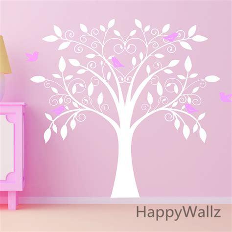 stickers arbre pour chambre bebe bébé pépinière wall sticker oiseaux arbre stickers muraux