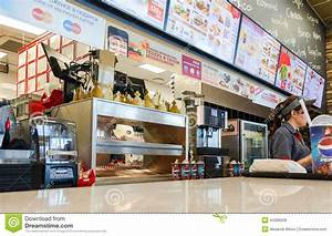 Burger King fast food restaurant Editorial Stock Image