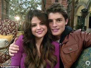 Selena Gomez cuddles up to Gregg Sulkin as pair film ...
