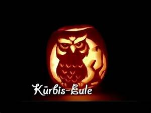 Kürbis Schnitzen Muster : k rbis eule schnitzen zu halloween youtube ~ Markanthonyermac.com Haus und Dekorationen
