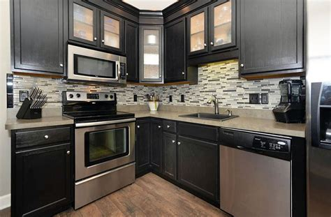 backsplash ideas for small kitchens 27 small kitchens with cabinets design ideas