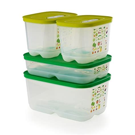 tupperware fridgesmart pc chart storage containers open sizes fruit