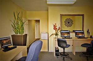 Casual Elegance Business Center Interior Design of The